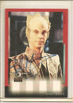 Babylon 5 Season 4 Bill Mumy (Lennier) Autograph Card #A6