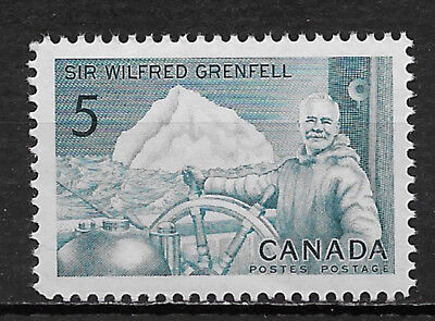 CANADA , 1965 , SIR WILFRED GRENFELL , 5c STAMP , PERF , MNH