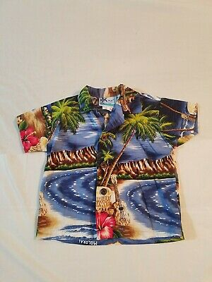Infant 12 Months Hawaiian Shirt Boys Rjc Made In Usa                  #7