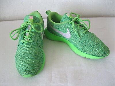 separation shoes 15065 8e98b Nike Roshe One NM Flyknit Womens Running Shoes Size 6.5 843386-301