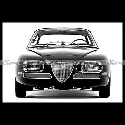 #pha.016671 Photo ALFA ROMEO 2600 BERLINA 1964-1969 Car Auto 106