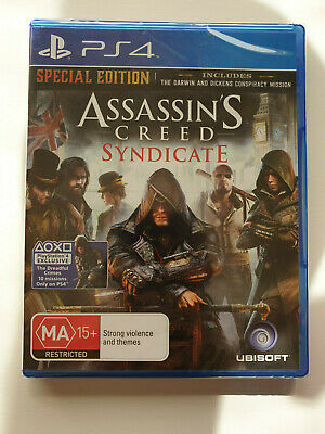 Assassin's Creed Syndicate Special Edition (Sony Ps4 Game, Ma15+) - New Sealed