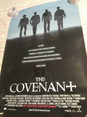 The Covenant + D/S Original Advanced Promotional Movie Theater Poster * 27 x 40