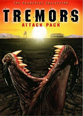 TREMORS ATTACK PACK 1 2 3 4 New Sealed DVD All 4 Films