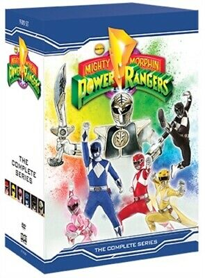 MIGHTY MORPHIN POWER RANGERS THE COMPLETE SERIES New 19 DVD Seasons 1 2 3