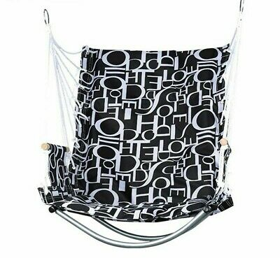Hanging Hammock Rope Chair Swing Seat Indoor Outdoor Seating Furniture Decor New