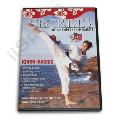 Secrets Championship Karate Kihon Pinon Kata Forms Basics DVD WKF women girls