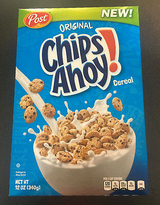 1 x Chips Ahoy Choc Chip Cookie Cereal 340g - USA