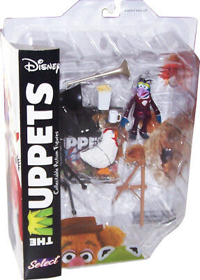 DISNEY MUPPET SHOW Actionfiguren (Muppets Select) Wave 1: Gonzo with Camilla