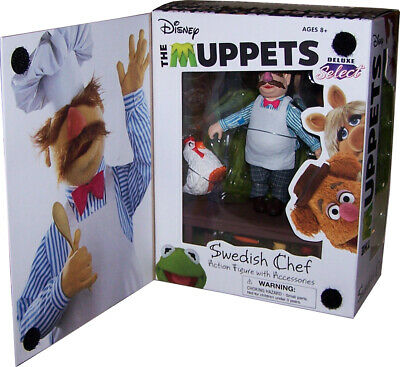 Muppet Show Actionfigur (The Muppets Deluxe Select) Swedish Chef