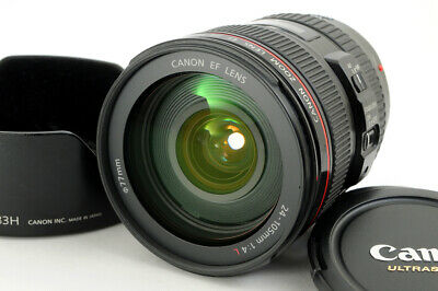 Canon EF 24-105mm f/4L IS USM Wide Angle Telephoto zoom EOS from Japan #2972