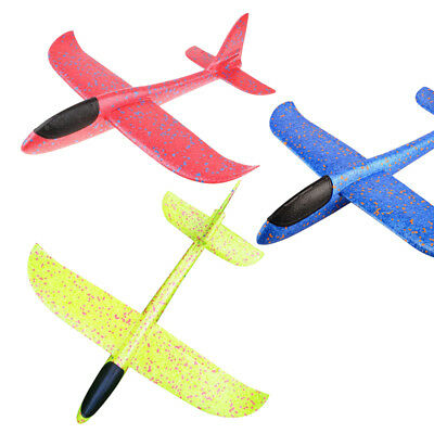 3Pack 48cm EPP Foam Flying Gliders Foam Hand Throw Launch Airplane Outdoor Toy