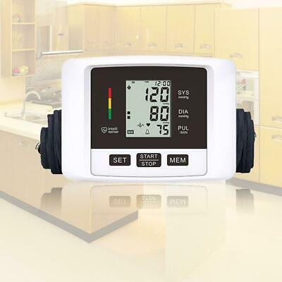 Automatic Digital Upper Arm Blood Pressure Monitor Pulsometer MSF