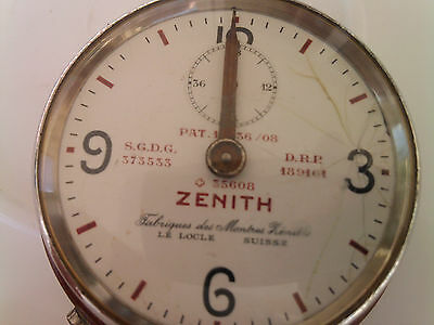 Zenith watch vintage/  collectors telecommunications Chronograph very old