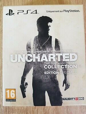 Uncharted The Nathan Drake Collection Edition Speciale Ps4