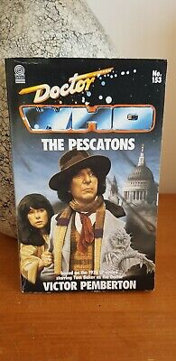 Doctor Who - The Pescatons - Target 153 - Pemberton - 1st Edition
