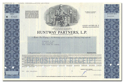 Huntway Partners Newhall California Oil  Merrill Lynch
