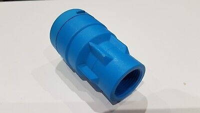 """John Guest MDPE pipe fitting - bag of 4 - connector 25mm to 3/4"""" female"""