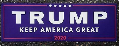 Lot 20 Donald Trump Keep America Great 2020 Bumper Stickers Free Shipping