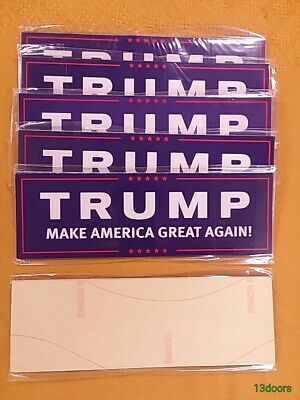 Lot of 50 Donald Trump Make America Great Again! Bumper Stickers