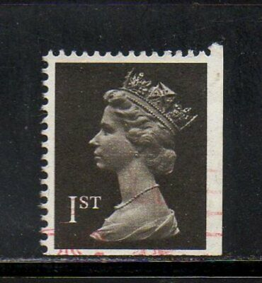 SG 1447 1st Class Booklet Machin 1989 - Imperf Bottom/Right Cat.£8 - Fine Used