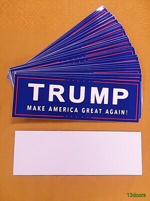 Lot of 20 Donald Trump Make America Great Again! Bumper Stickers High Quality!