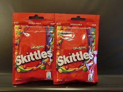 SKITTLES XTREME FRUIT Bubble Gum (1) Sealed Collectors Pack