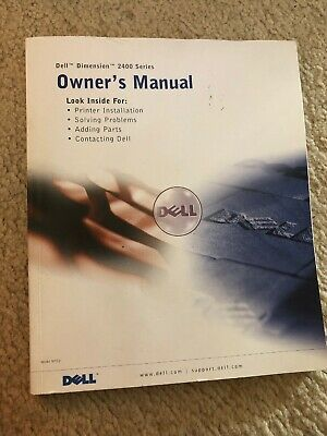 Dell Dimension 2400 Series Owners Manual