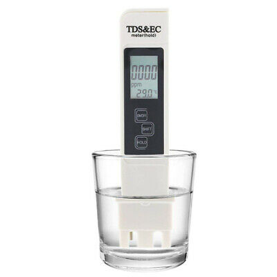 3in1 Digital Water Quality Tester LCD PPM TDS/salt EC Water Filter Purity Meter