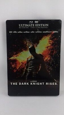 Blu-ray + DVD Batman the dark knight rises édition Steelbook ultimate edition