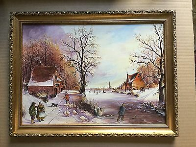 English COUNTRY Pastoral Victorian scene by  English artist Ron Thornley #1