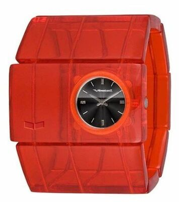 Vestal Rosewood Acetate Watch - Women's Red/Red/Black, One Size