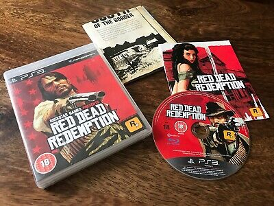 Red Dead Redemption PS3 Game - PAL - Complete