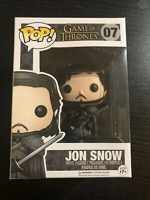 Funko Pop! Game of Thrones GoT JON SNOW #07 VHTF Arya Stark Hound Sansa