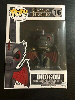 Funko Pop! Game of Thrones GoT DROGON dragon #16 VHTF Arya Stark Hound Sansa