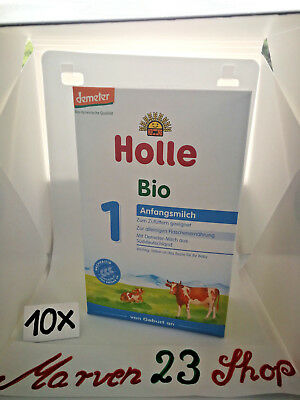 Holle Organic Infant Baby Formula Stage 1( 10 boxes ) Fresh from Germany