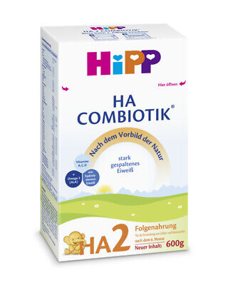 HiPP Organic HA2 Combiotic Hypoallergenic infant (3  boxes) Fresh from Germany