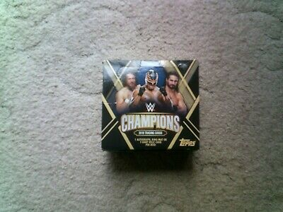 Topps WWE Champions 2019 Foil & Bronze Parallell cards