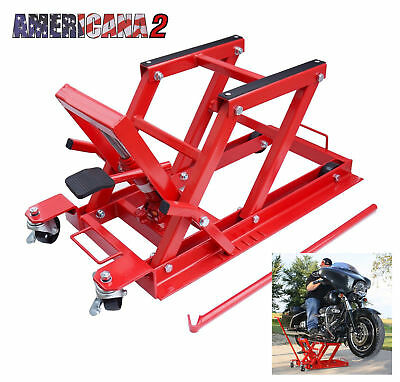 Americana 2 Hydraulic Workshop Lift For Harley Davidson Fat Bobber Chopper