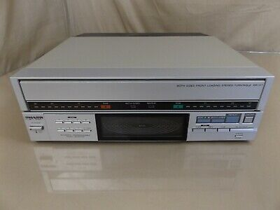 Sharp RP-117 Both Sides Programmable Linear Turntable Record Player WORKS!