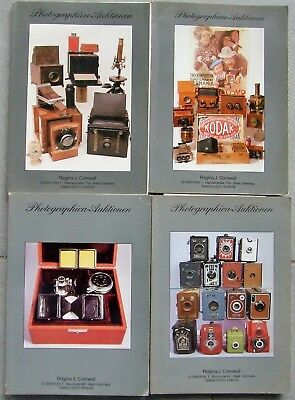 4 x CORNWALL  PHOTOGRAPHICA AUCTION CATALOGUES IN GERMAN.  1982,83 & 84