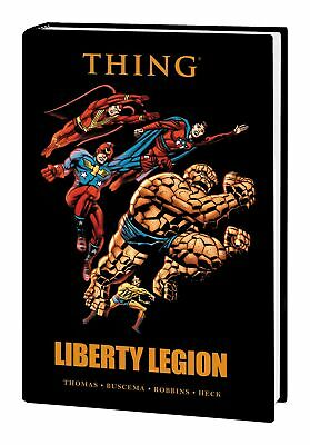 Thing Liberty Legion Premiere Edition Hardcover (Marvel) - New/Sealed!