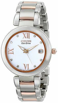 Citizen Women's EO1116-57A Marne Signature Eco-Drive Dial Two Tone Watch
