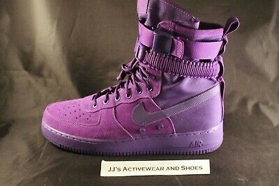 7762a568bf8bd5 NEW NIKE SF AF1 Air Force 1 Court Purple High Boot 864024-500 SZ 12 ...