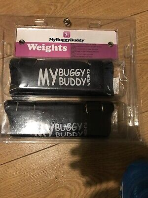 My Buggy Buddy - Pram Weight - Anti-Tip Weight Distribution - Black - 2 Pack