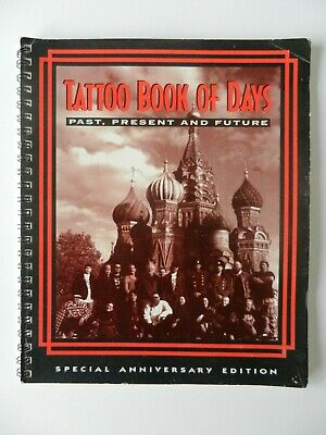 lyle tuttle tattoo book of days RARE VINTAGE not machine