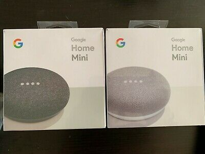 NEW Google Home Mini with Google Assistant Voice Enabled  - CHARCOAL/GRAY