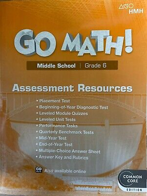 GO MATH! MIDDLE School Grade 8 Practice and Skills Fluency