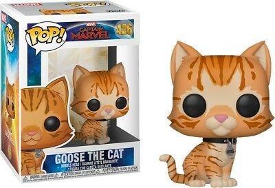 Funko Pop! Captain Marvel (2019) - Goose the Cat #426 Exclusive