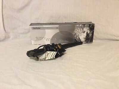 HerStyler Baby Curls Black Proffesional 13mm Curling Wand - hardly used